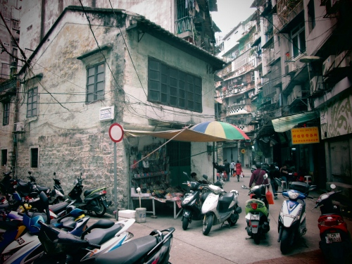 Old Chinese Shophouse