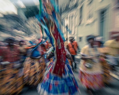 Salvador Dancers By Nelson Oliviera
